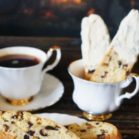 Pistachio, Cranberry and Cardamom Biscotti