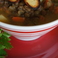 Hearty Lentil Soup with Rasam Powder
