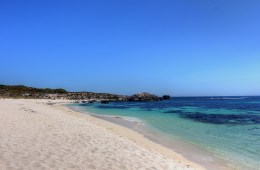 Ricey Beach - White sand and turquoise water