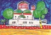 """Автор: Гого, 12 г. Рисунката е предоставена от Ателие """"Прегърни ме""""."""