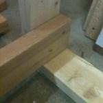 Cube frame corner