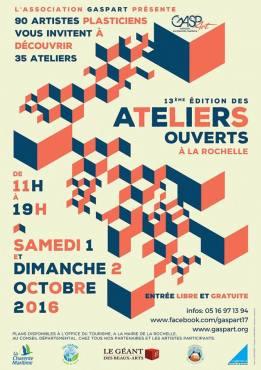 Ateliers ouverts 2016 La Rochelle
