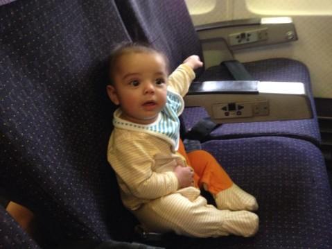 Eric in plane