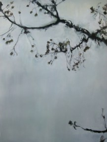 Sin título II. Mixta sobre lienzo, 130 x 97 cm. 2012
