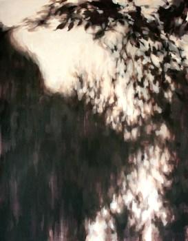 Sin título VII. Mixta sobre lienzo, 146 x 114 cm. 2012