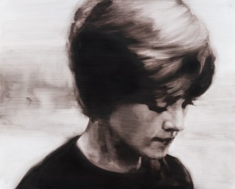 Absence I. Óleo sobre tabla, 81 x 65 cm. 2015