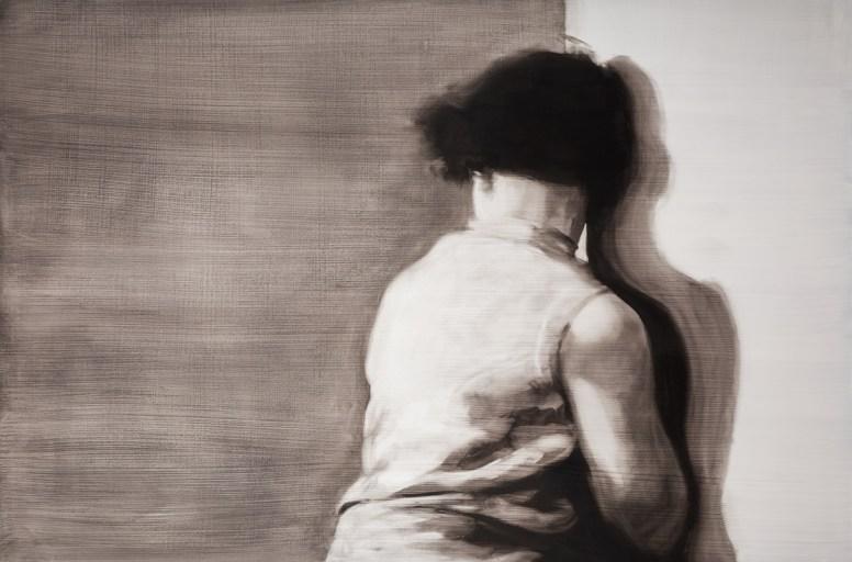 Détournement. Óleo sobre tabla, 146 x 97 cm. 2015