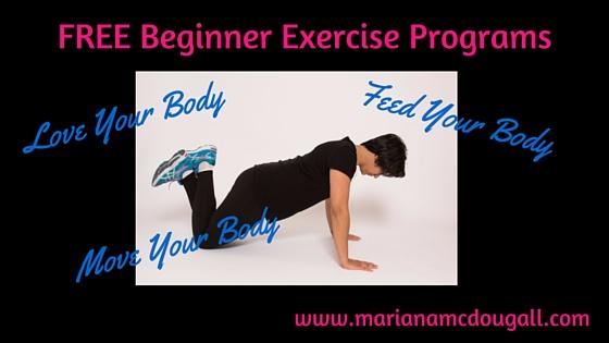 FREE Beginner Exercise Programs
