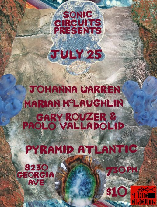 July 25th at Pyramid Atlantic
