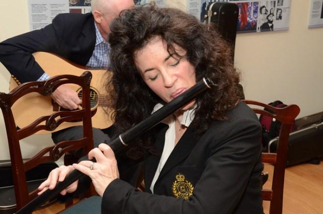 Irish flautist