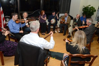 Irish traditional music session