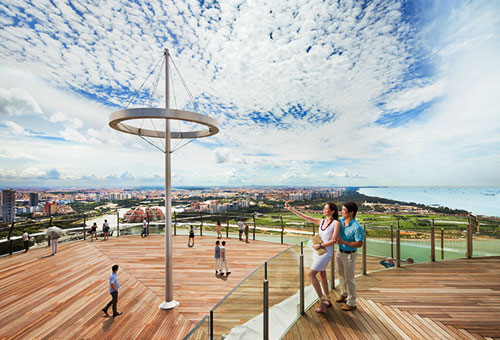 Sands SkyPark Observation Deck at Marina Bay Sands
