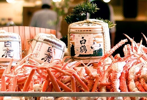 Crab Feet in Todai