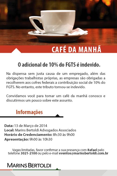 Convite Café