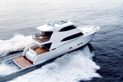 Maritimo M70 long range luxury motor yacht