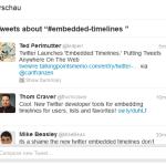 Twitter-Timeline für Blogs und einzelne Artikel
