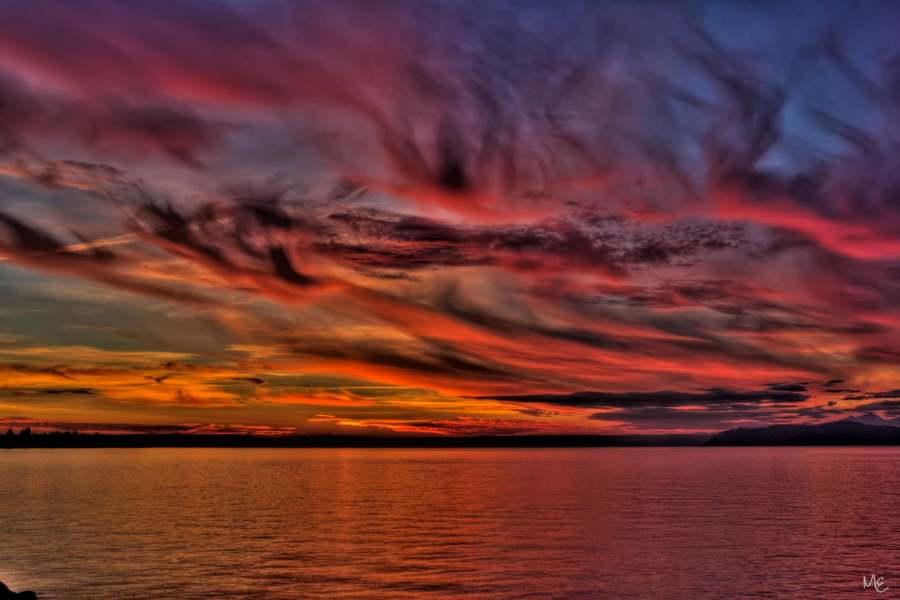 Mark Epstein Photo | Sunset Over Elliot Bay