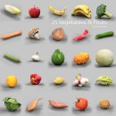 25 Vegetables and Fruits Collection
