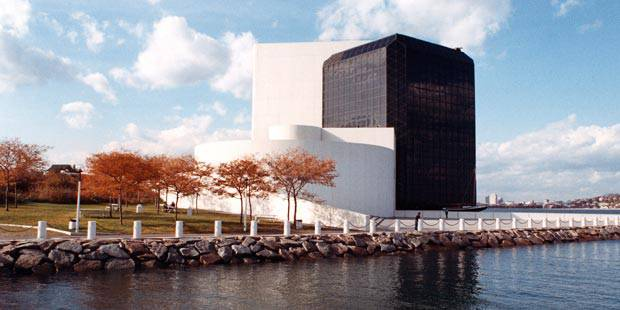 The JFK Library & Museum in Boston.