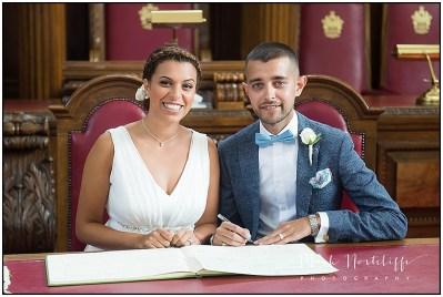London Wedding Photographer - Islington Town Hall