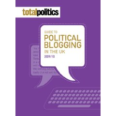 Total Politics Guide to Political Blogging book cover