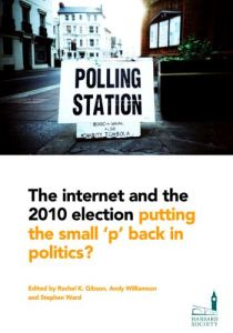 http://www.scribd.com/doc/35591436/The-internet-and-the-2010-election-putting-the-small-%E2%80%98p%E2%80%99-back-in-politics
