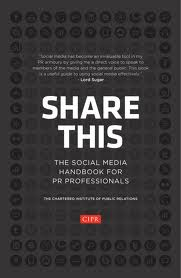 Share This: The Social Media Handbook for PR Professionals - book cover