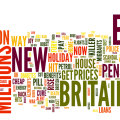 Daily Express Headlines Wordle - using data from bibliophylax.tumblr.com