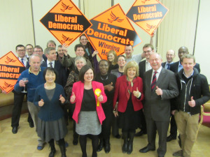 Emily Frith and Hampstead and Kilburn team