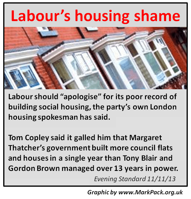 Labour's housing shame