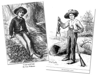 TomSawyer and HuckleberryFinn