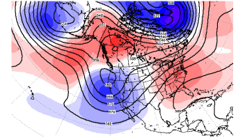 Abnormally Warm Pacific Has Differing Influence On Western North America Atmosphere