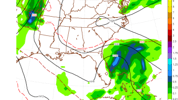 GFS Has Tropical Storm Ana Hitting South Carolina Late Week