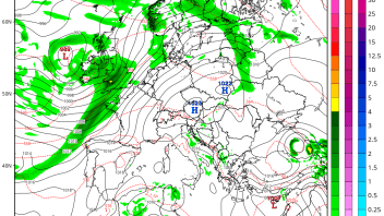 Heavy, Flooding Rain Impacts UK, France, Low Countries While Heat Continues To Rule Central, East Europe