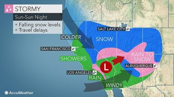 Major Snowstorm From California To Ontario Could Be Followed By Coldest Air Yet!