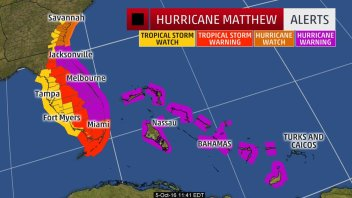 140 MPH HURRICANE MATTHEW COULD BRING 'CATASTROPHIC' DAMAGE TO FLORIDA'S SPACE COAST