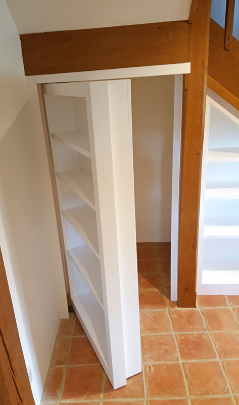 Custom under stairs storage UK