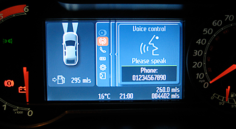 Ford Converse+ System and Bluetooth Voice Control