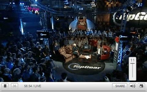 BBC Media Player volume goes to eleven
