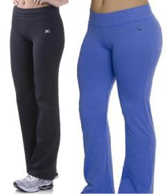 A calça bailarina é a mesma calça flare, só que de malha. Ótima para academia ou para um visual mais esportivo como estas da Lupo e da Puma. Fiz esquema de modelagem do PP ao EGG.