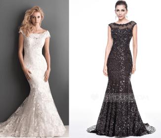 Um modelo de vestido que fica bem tanto em um vestido de festa quanto num vestido de noiva, mas meninas com quadril muito grande e barriguinha saliente deve evitar este modelo. Segue esquema de modelagem do 36 ao 56.