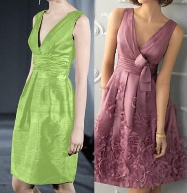 Um vestido clássico com esquema de modelagem do 36 ao 56.