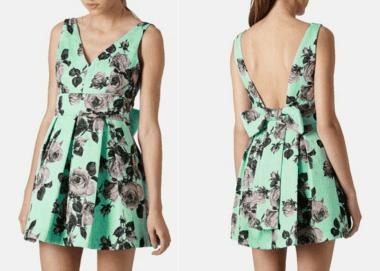 Um vestido clássico e bem verão com esquema de modelagem do 36 ao 56.