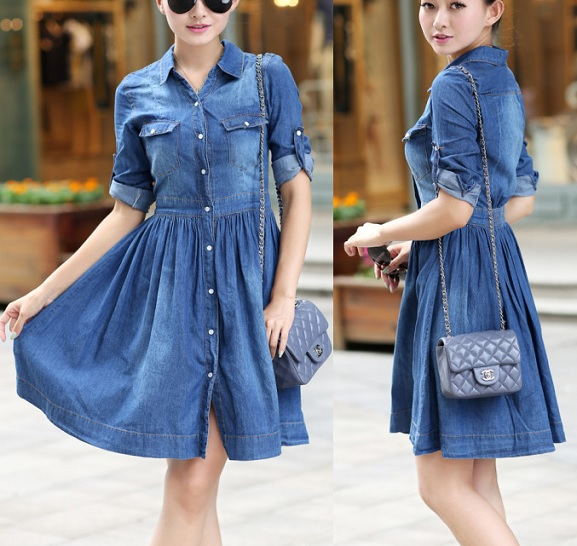 Esquema de modelagem de vestido chamesier manga longa do 36 ao 56.