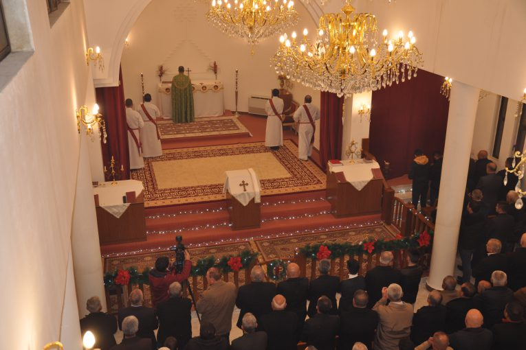 قداس عيد ميلاد الرب يسوع المسيح في كنيسة مار نرساي / دهوك