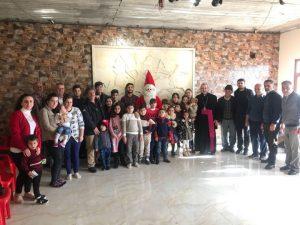 حفلة اعياد الميلاد في منطقة دوميز