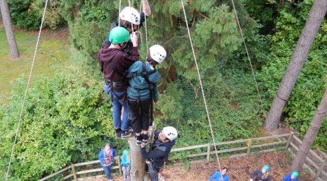 Adventure Rope Course – Priory School