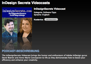 InDesignSecrets Videocast
