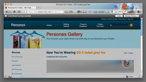 Preview Personnas for Firefox