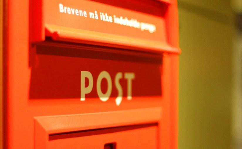 """Skal de """"Røde"""" postkasser forblive i gadebilledet?"""
